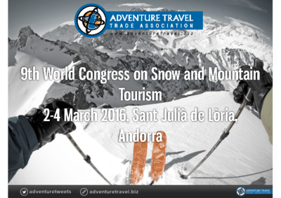 3_2 Chris_Doyle_ FINAL UNWTO Snow and Mountain Tourism Conference March,2016