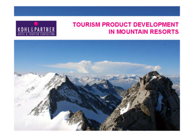 3_3 Christopher Hinteregger_Tourism product development in Mountain Resorts_E