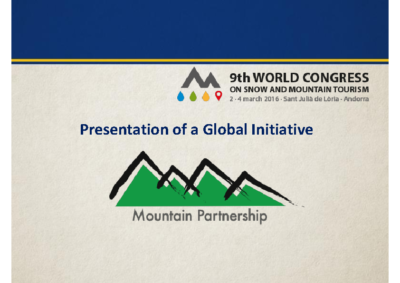 FAO – The mountain partnership